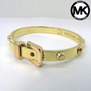 MICHAEL KORS Astor Stud Buckle Bangle Bracelet